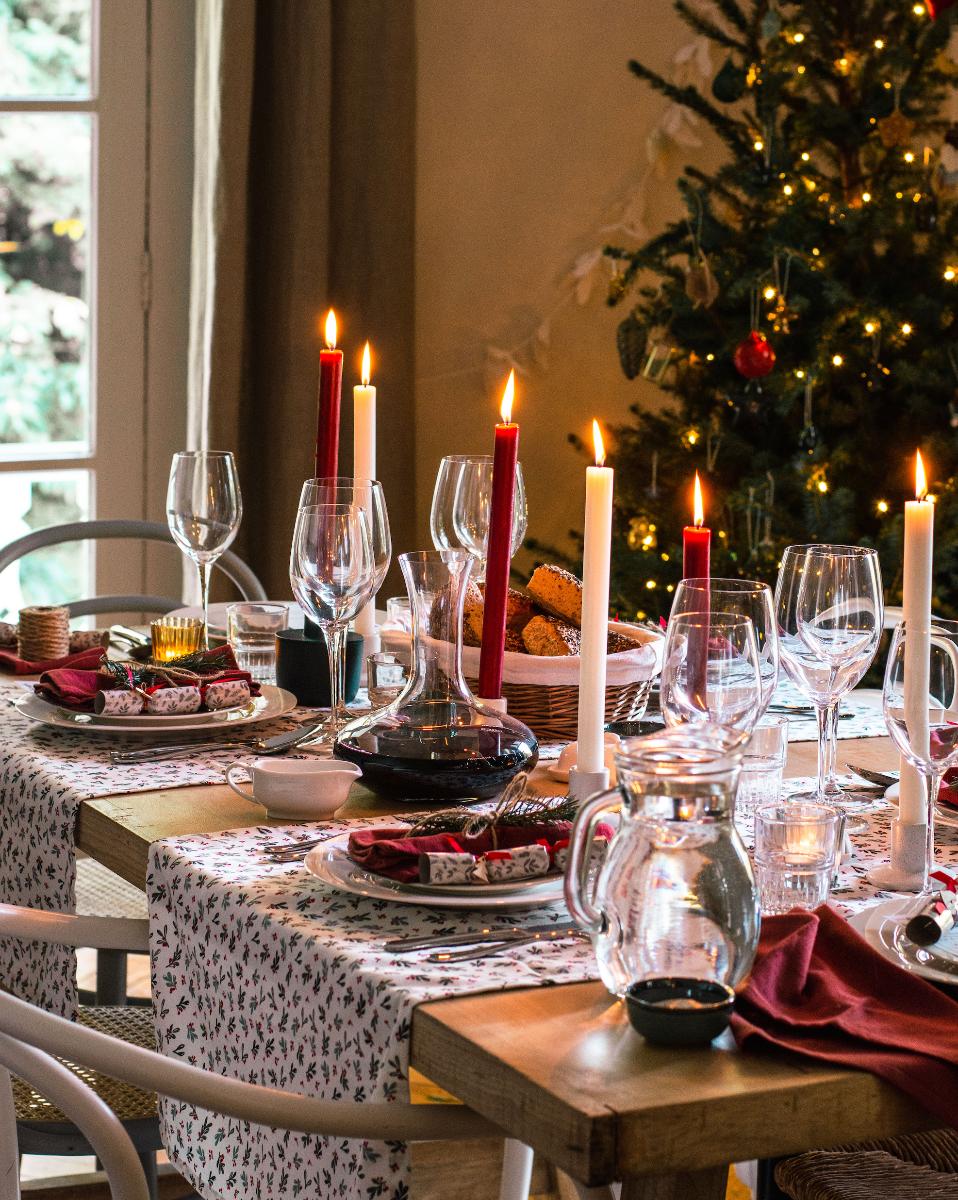 Kerst tafelen